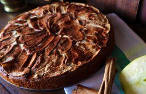 Bizcocho de manzanas y canela irecetas