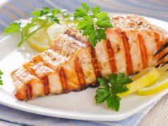 Salmón con salsa cítrica