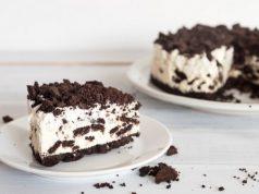 Cheesecake de Oreo sin horno