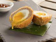 receta huevos escoceses con salmon o Scotch Eggs - Smoked salmon