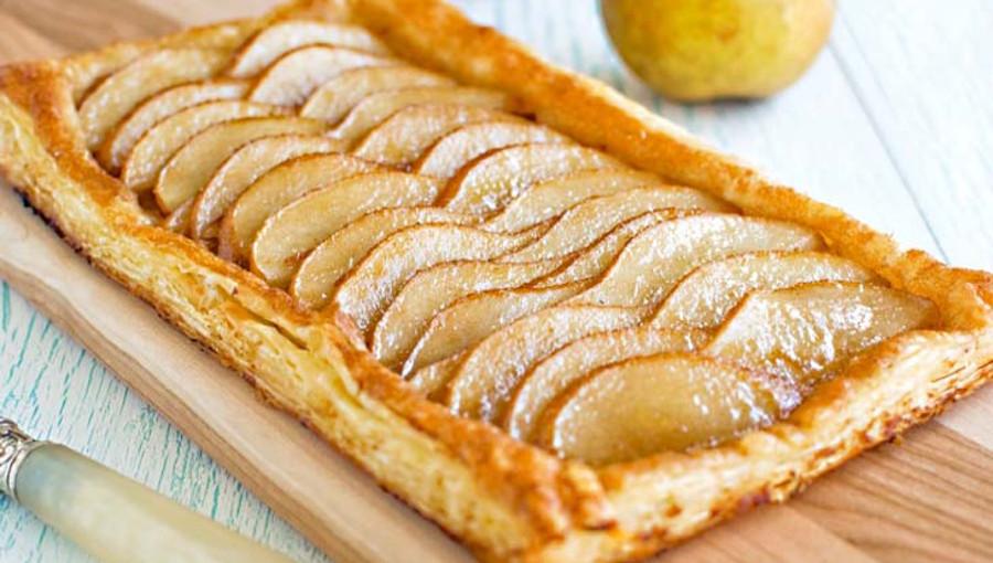 Tarta De Hojaldre Rellena De Manzanas Recetas Fáciles